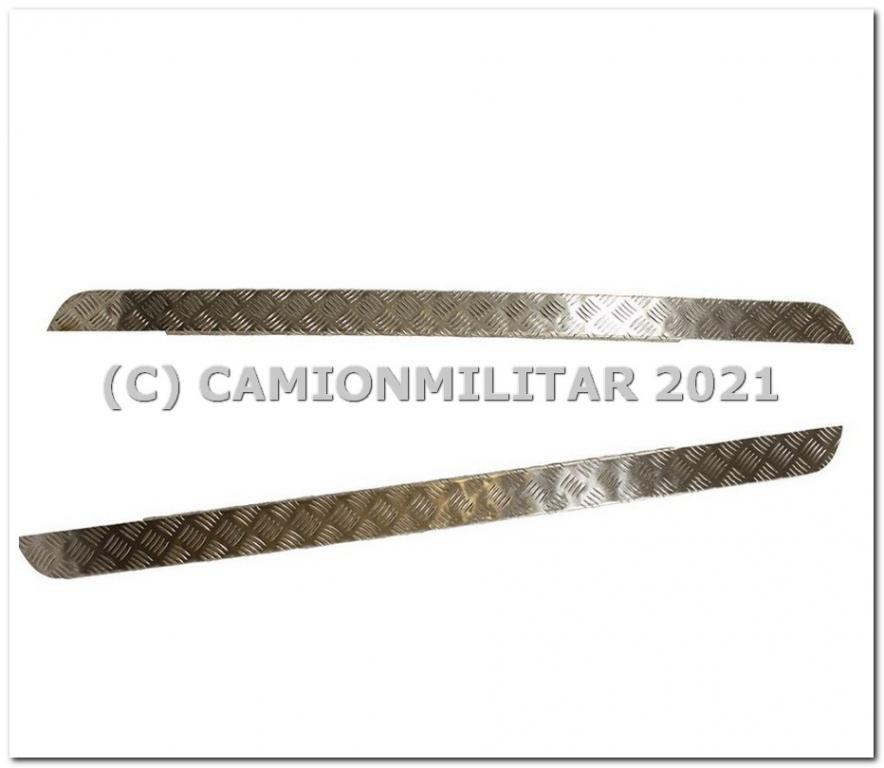 LR1423 Protector umbral Aluminio 3mm Land Rover Series 88