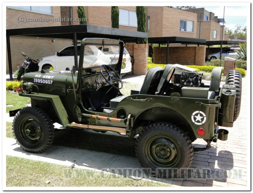 Jeep Willys M606 & radio - Fotos desde Colombia - Camion vehiculos ...
