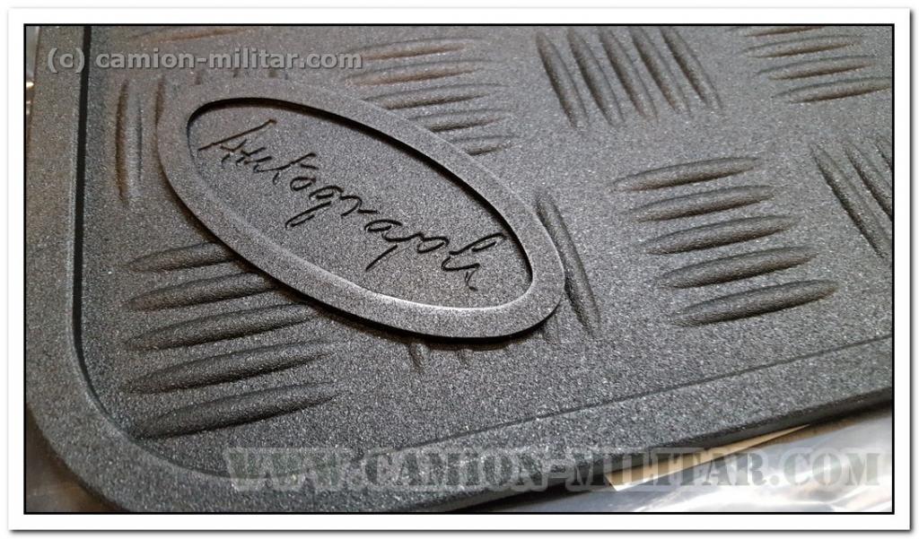 Stc50172 alfombras de goma delanteras land rover camion - Alfombras de goma ...